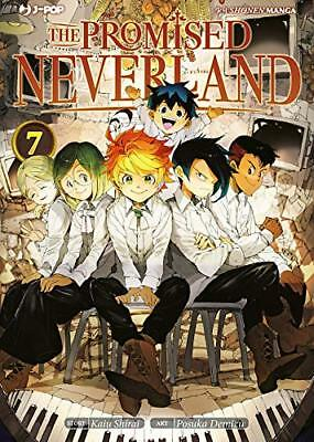 The Promised Neverland N° 7 con Poster  - Jpop Manga - ITALIANO NUOVO #NSF3