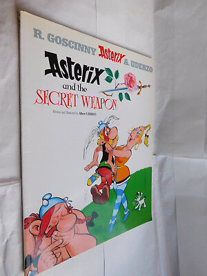 Asterix and The Secret Weapon PB graphic novel book #29
