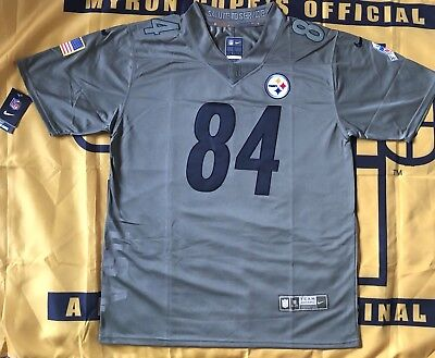00709ee1b22 antonio brown salute to service jersey ANTONIO BROWN  84 Pittsburgh Steelers  ...