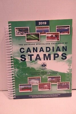 2019 Unitrade Specialized Catalogue of Canadian Stamps Scott Numbering System