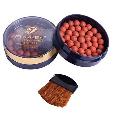 Ball Blusher Blush Powder Cosmetic Women Shading Rouge Pearl Smooth Face Silky