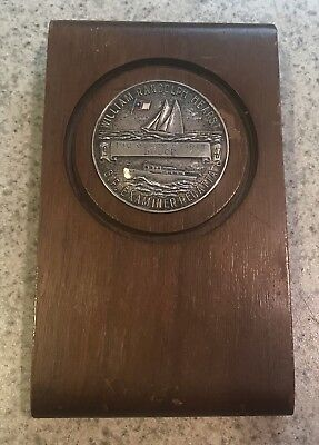 Vintage 1947 San Francisco William Randolph Hearst Boat Race Regatta Medal Award