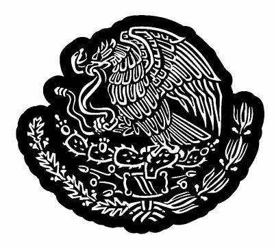 """Mexican Coat of Arms Sticker Decal Mexico Flag Car Truck Auto Laptop 7.5"""""""