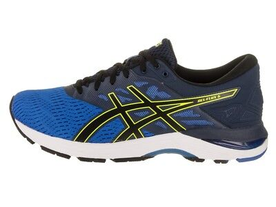 ASICS GEL FLUX 5 Mens Carbon Black Course Running Trainers