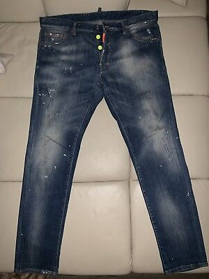 100% ORIGINAL DSQUARED Dsquared2 Blue Jeans 👖 Cool Guy RAR SOLD OUT ... e4a62dd88750