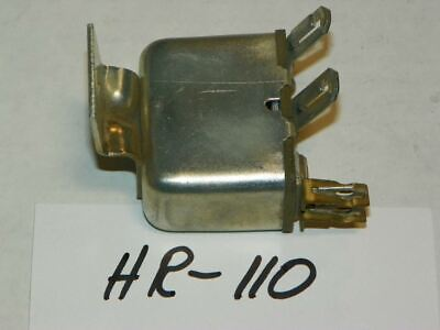 NOS Horn Relay Made in USA Fits 1941-1948 Ford Mercury HR110 Repl 11A-13842D