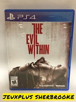 Evil Within (Sony PlayStation 4, 2014) (COMPLETE IN BOX)