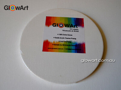 """ROUND STRETCHED CANVAS 8"""" to 20"""""""