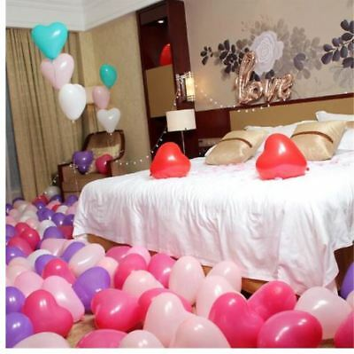 20pcs/lot Love Heart Helium Balloons Wedding Decoration Valentine Birthday Party