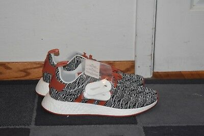 New Adidas Nmd R2 Jd Sports Orange And Grey Men S Running Shoes