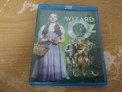 The Wizard Of Oz 70Th Anniversary Edition Bluray Dvd Movie Film Disc Warner Bros