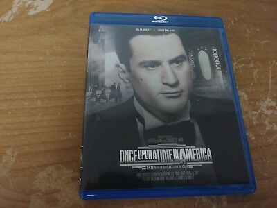 Once Upon A Time In America Extended Director's Cut Bluray Dvd Movie Film Disc R