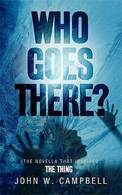 Who Goes There by John W Campbell (English) Paperback Book Free Shipping!