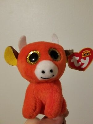 7f4dce65200 McDonald s Teenie Beanies Boo s 2017  9 Snort Red Bull TY Happy Meal Toy
