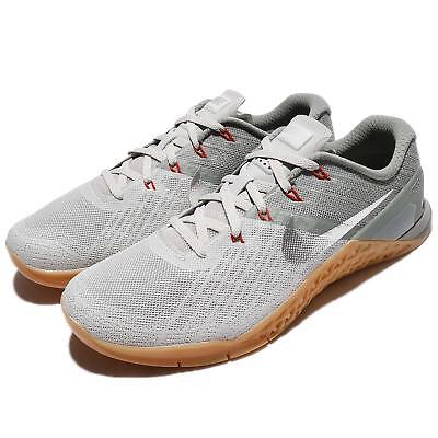 6046066c009f50 Nike Metcon 3 III Dark Stucco Silver Men Cross Training Lifting Shoes  852928-010