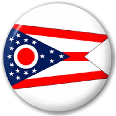 Ohio Us State – 25 Mm Pin Button Badge