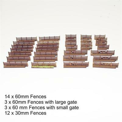 4Ground 15mm Terrain & Obstacles Fencing Pack MINT