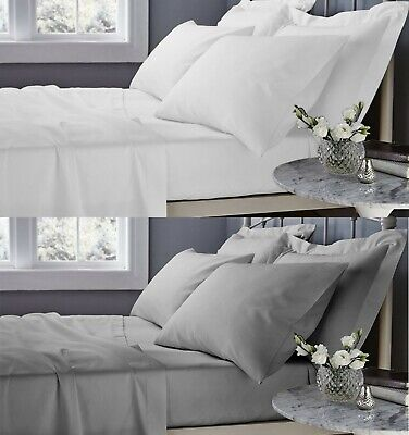 400Tc 500Tc Flat Sheet 100% Egyptian Cotton Hotel Quality Top Sheets All Sizes
