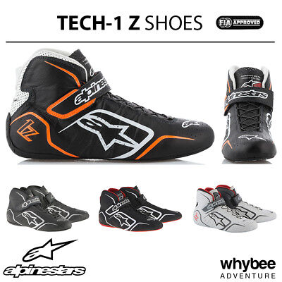 2715015 Alpinestars 2019 TECH-1 Z Race Rally Boots Lightweight Leather FIA 8856
