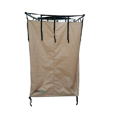 Expedition Fold-out Shower Privacy Camping Awning Tent for Roof Racks