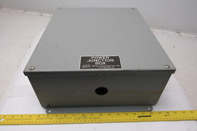 """Power Distribution Wall Mount 14"""" x 16"""" x 6"""" Electrical Enclosure W/Back Plate"""