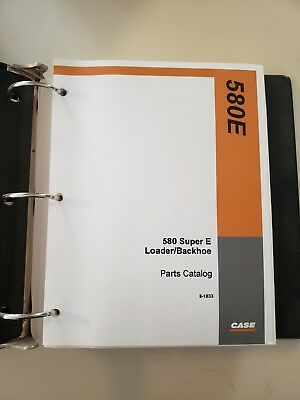 Industrial Manuals Case 580 Super E Operators Manual 1986