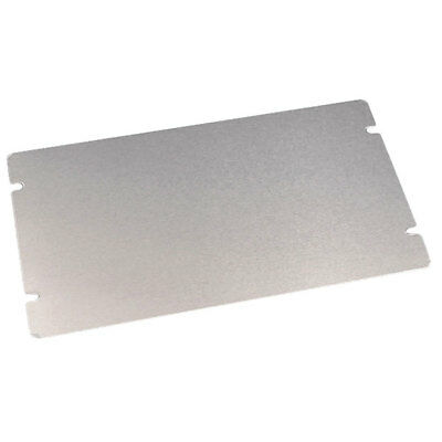 Hammond 1434-1713 Chassis Bottom Panel 432 x 330mm Aluminium Natural