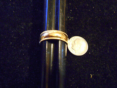bling gold plated wedding figure thumb band finger ring unisex hip hop size 9