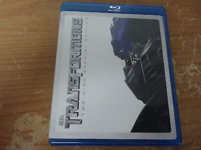 Transformers 2 Disc Special Edition Action Sci Fi Bluray Dvd Movie Film Disc