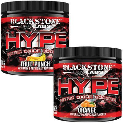 Blackstone Labs Hype Nitric Oxide-Boosting Pre-Workout Supplement - 30 Servings