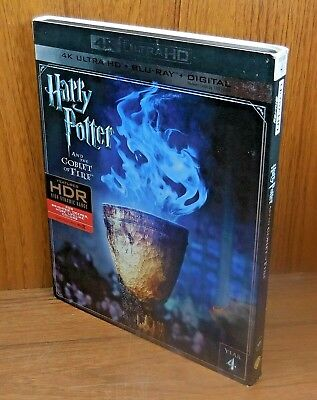 Harry Potter and the Goblet Of Fire 4K w/ Slip Cover (Blu Ray Ultra HD) no 2D