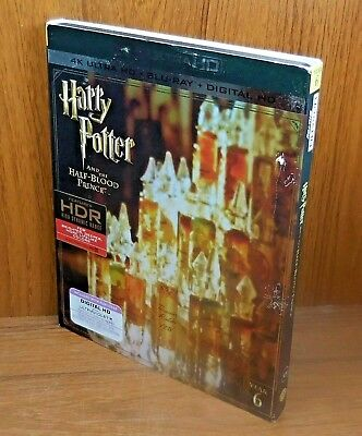 Harry Potter and the Half Blood Prince 4K w/ Slip Cover (Blu Ray Ultra HD) No 2D