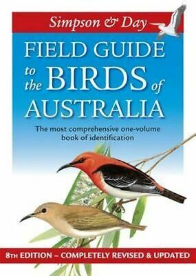 NEW Field Guide to the Birds of Australia By Day SIMPSON Paperback Free Shipping