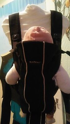 Baby Björn Carrier Original. Black and Grey. Good Condition. Used.