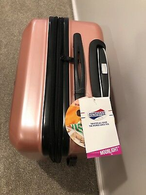 "American Tourister Moonlight 24.0"" x 16.0"" x 11.0"" Suitcases Rose Gold"