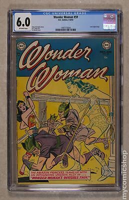 Wonder Woman (1st Series DC) #59 1953 CGC 6.0 1497115004