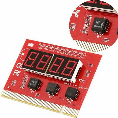 4 Digits Diagnostic Card PCI LCD Display LED PC Motherboard Analyzer