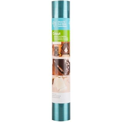 "Cricut Adhesive Foil 12""x48""-stainless Teal"