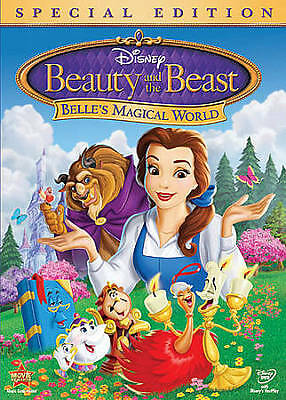 Beauty and the Beast:: Belle's Magical World [Special Edition] DVD  BRAND NEW!