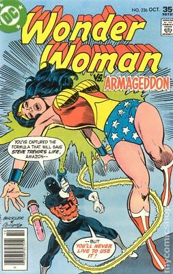 Wonder Woman (1st Series DC) #236 1977 VG- 3.5 Stock Image Low Grade