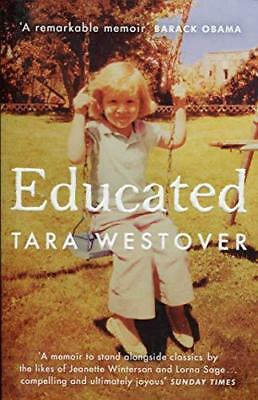 Educated : A Memoir by Tara Westover (2018,Paperback) FREE SHIPPING