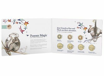 2017 Australia Possum Magic 8 Coin Set - Limited Edition including 1c coin