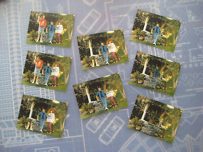 Back to the Future - McFly Disappearing/Fading Family Photos - Set of 8 - BTTF -