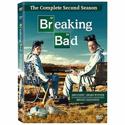 Breaking Bad: The Complete Second Season DVD, Bryan Cranston, Aaron Paul, Anna G