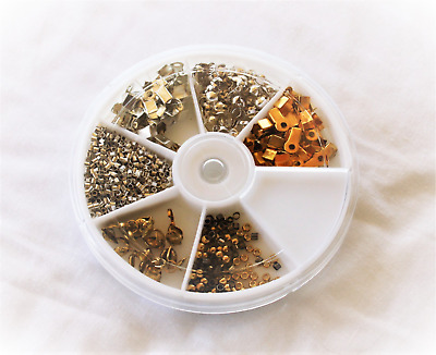 """JEWELLERY MAKERS STARTER KIT; 900 Pieces with """"FREE"""" Storage Container    #129"""