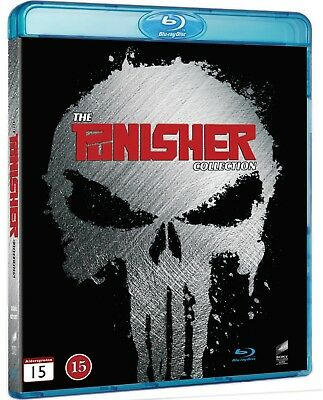 The Punisher Collection (Region Free) 2-movie Blu-Ray multi language options