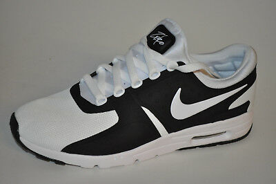 new product 769eb 6378f Nike W Air Max Zero 857661-006 Black White Schwarz Weiß