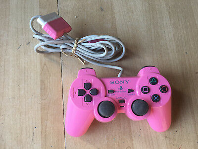 manette officielle Sony Playstation 2 Dualshock ROSE - PS2