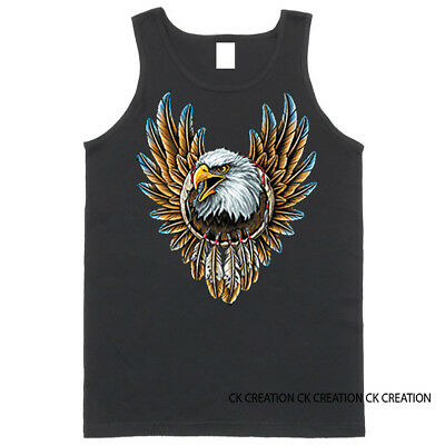 Eagle Dreamcatcher Native American Indian Graphic Tank Top