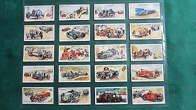 Bargain Buy Ogdens Motor Races 1931 Set Cards 1 To 50 Complete Very Good
